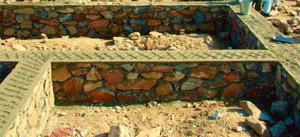 Как построить дом из камней своими руками 66