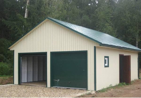 261Как построить дом из металлопрофиля своими руками