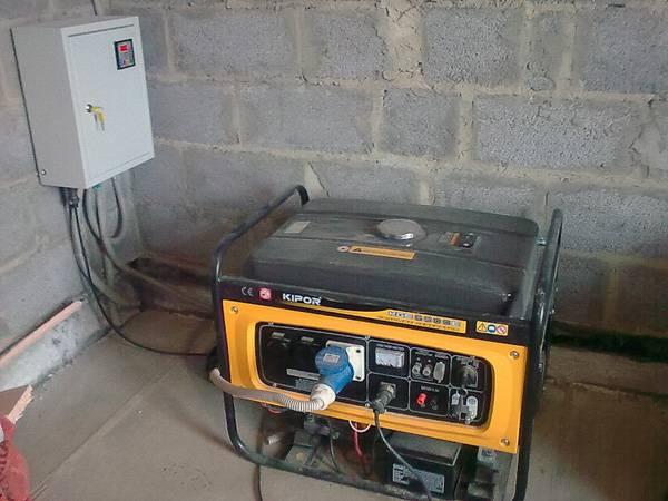 Как правильно подключить электростанцию к дому?
