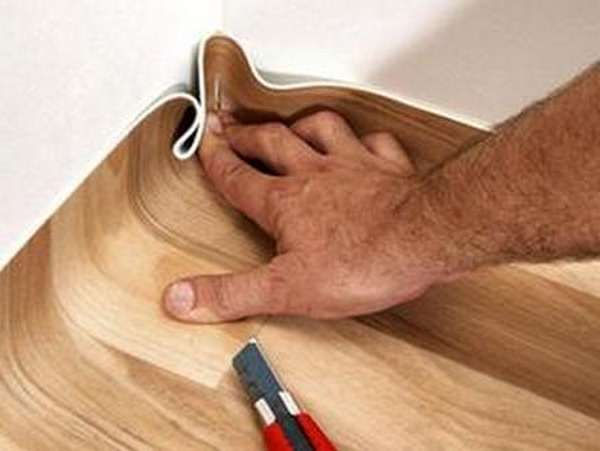 Линолеум укладка на деревянный