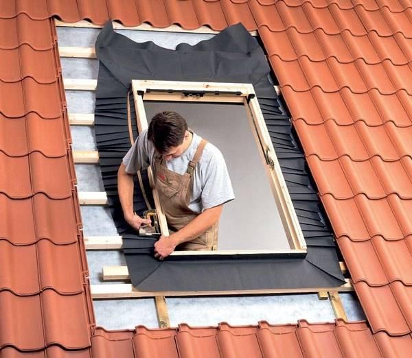 Глухое окно в крышу 46